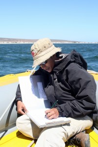 Dr Keshni Gopal during one of her surveys along the West Coast. Photo: Supplied