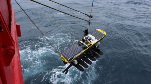 The glider worth R3-million will be used in tests in the Southern Ocean. Photo: M&G