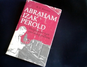 Die voorblad van RU Kenney se boek oor AI Perold, vader van Suid-Afrika se Pinotage wyn.