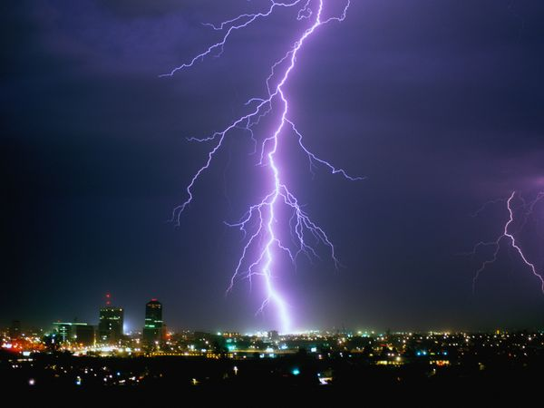 Some Truths About Lightning When Thunder Roars Go