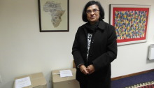 Kidney expert Prof Saraladevi Naicker has been instrumental in setting up training programmes for African graduates. Photo: Anina Mumm